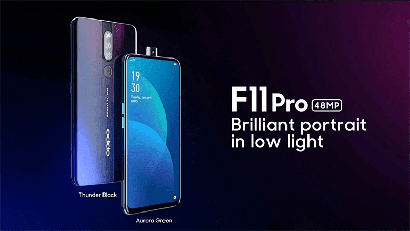 "OPPO teases the F11 Pro with ""Panoramic Screen"" and 48MP cam"