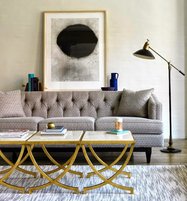These 6 Pieces Of Colorful Furniture Are Absolute Must Haves: South Shore Decorating Blog: What A Difference Color, Art