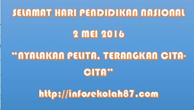 Teks Pidato Kemendibud Hari Pendidikan Nasional tahun 2016