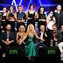 Maria Teresa Ruta e Devis Paganelli con il Maestro Vince Tempera, assegnano  il Sanremo Newtalent 2017