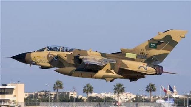 Saudi Arabian fighter jets target Yemeni capital's airport in Sana'a
