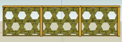 gambar pagar kayu sederhana, pagar kayu, pagar rumah minimalis, pagar bambu