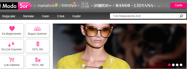 27c9013ba2912 ... tek tıkla hayalindeki ürünlerle buluşturmak hedefiyle, Türkiye'nin en  çok sevilen online mağazalarından onbinlerce ürünü bir araya getiren  Modasor.com, ...