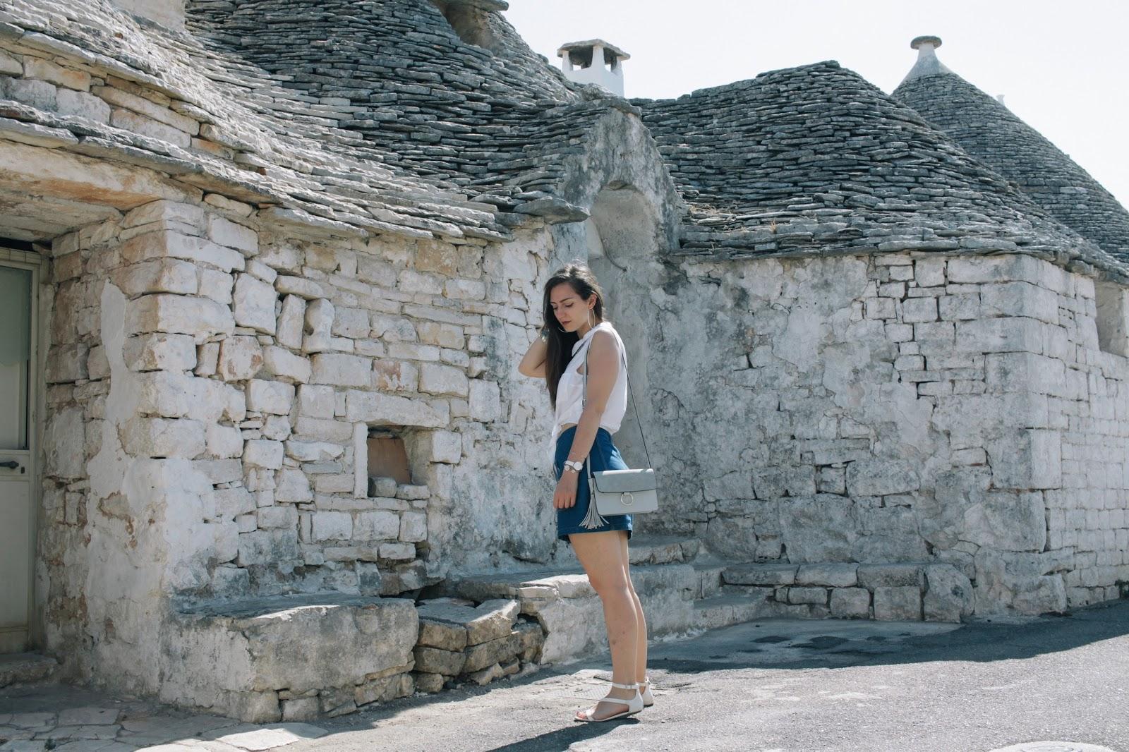 IDEE vacanze: Alberobello, la meta scelta da tutti! Outfit da turista.