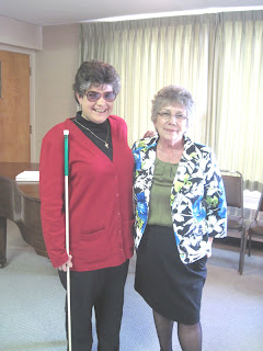 Laurel with Pastor Linda