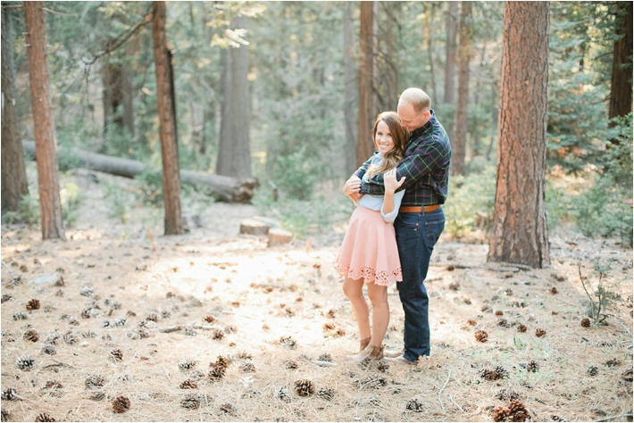 Romantic Lake Arrowhead Engagement Session