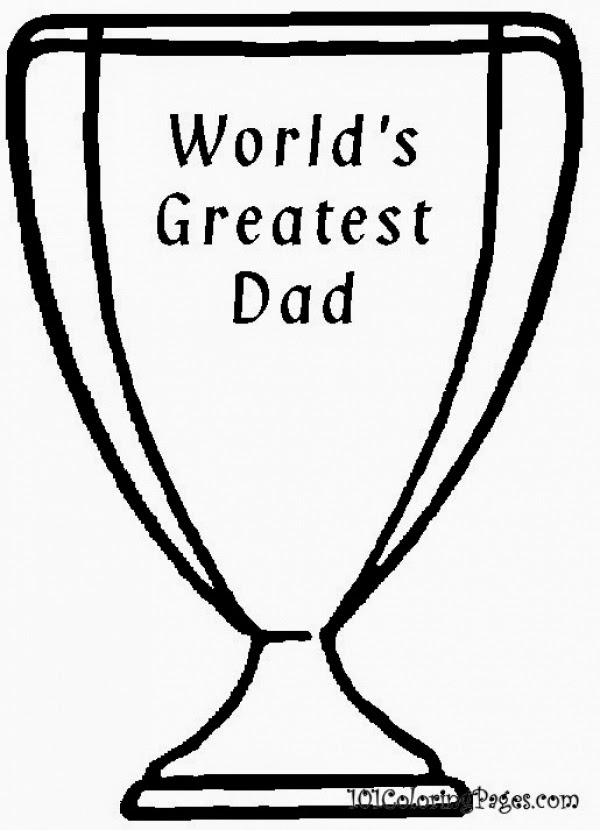 i love dad coloring pages | kootation.blogspot.com