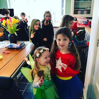 kindercarnaval in de keuken