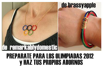 Hazte un Colgante y una Pulsera para las Olimpiadas