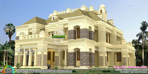 6 BHK luxurious Colonial residence in 7840 sq-ft