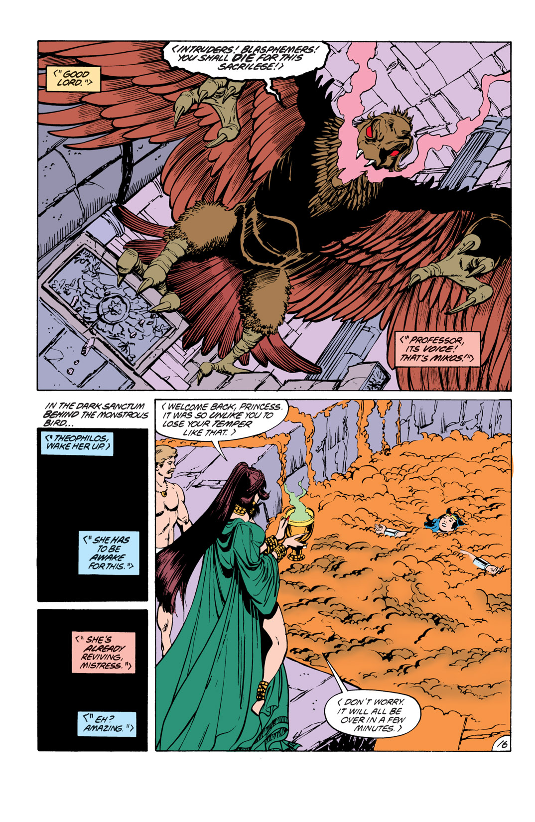Read online Wonder Woman (1987) comic -  Issue #19 - 17