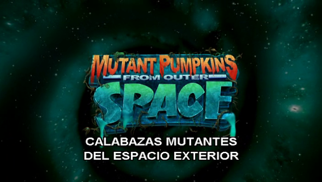 Monsters vs Aliens Calabazas Mutantes del Espacio Exterior DVDRip Latino