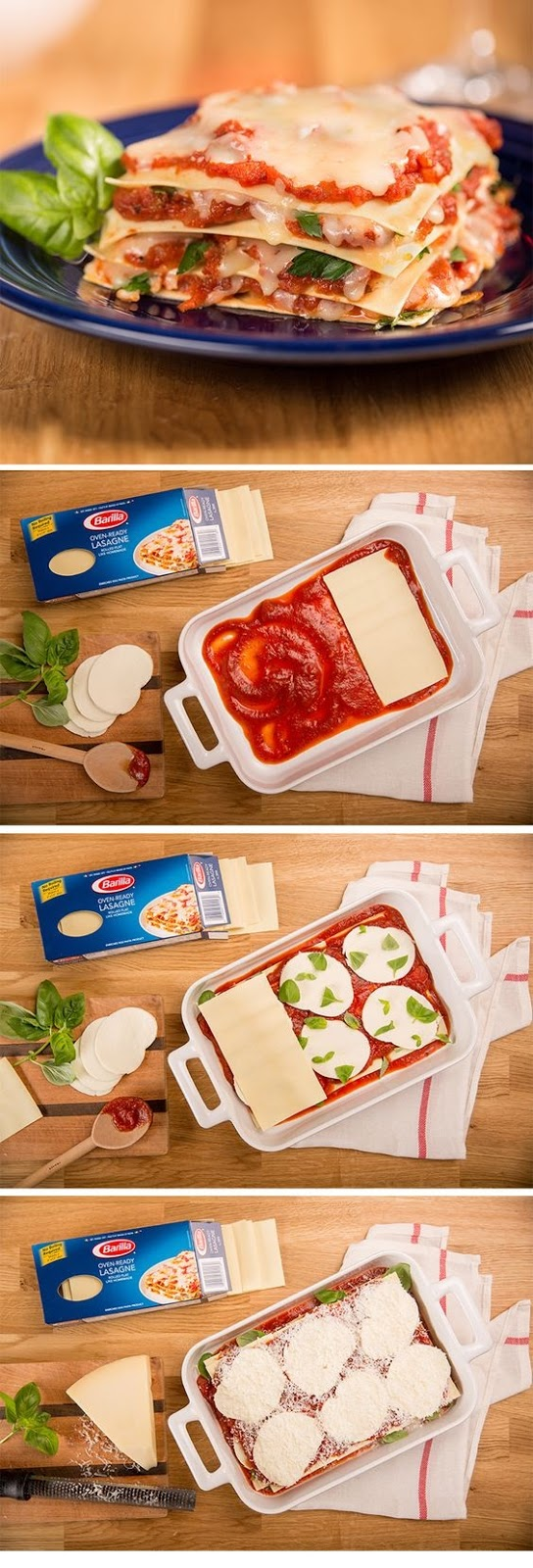 Classic No Boil Oven Ready Lasagna Recipe