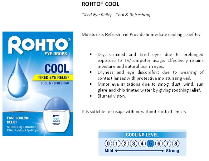 Evergreen Love Rohto 174 Cool Eye Drops For Beautiful Eyes