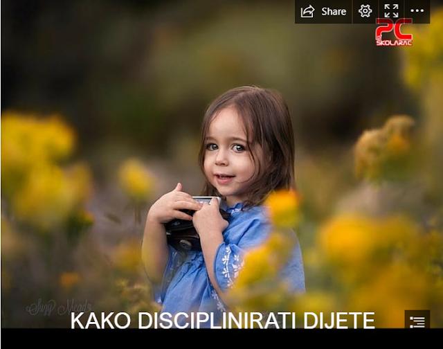 KAKO DISCIPLINIRATI DIJETE