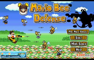 瑪利歐蜜蜂防禦戰,簡單精緻的射擊塔防!