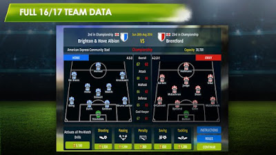 on this occasion I will share game android mod Championship Manager 17 MOD APK (Update) v1.3.1.807