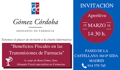 BENEFICIOS FISCALES FARMACIAS