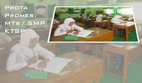 Contoh Promes Prota SMP MTs Mapel Bahasa Indonesia KTSP 2006