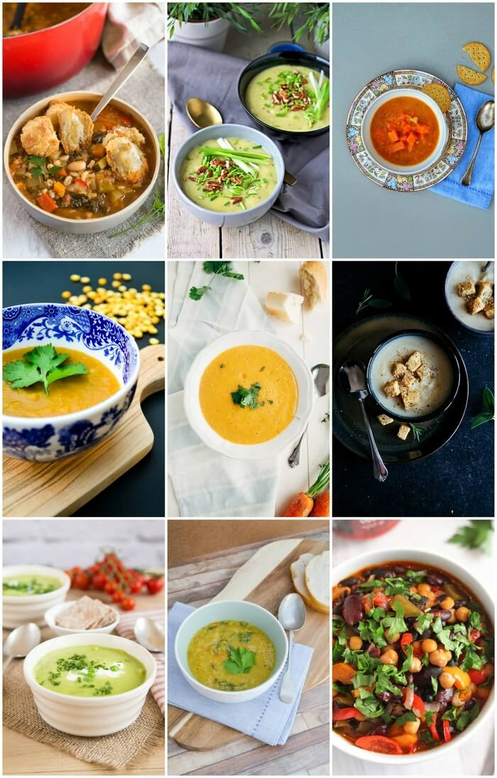 9 easy winter vegan soups