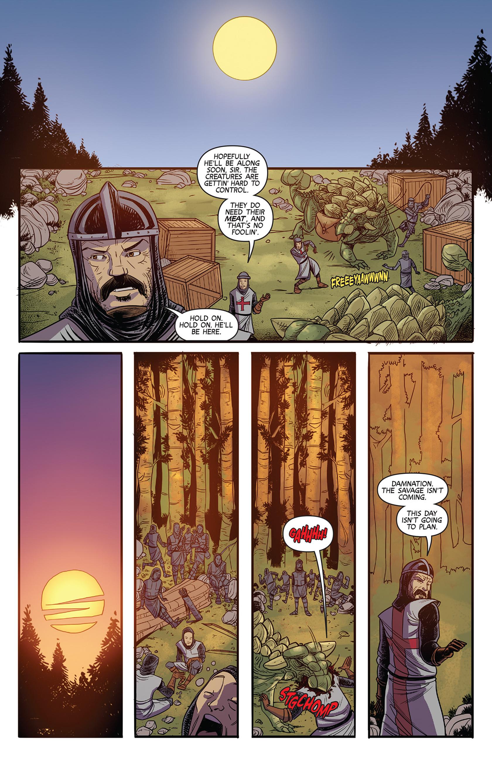 Read online Turok: Dinosaur Hunter (2014) comic -  Issue #11 - 8
