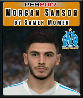 PES 2017 Faces Morgan Sanson by Sameh Momen