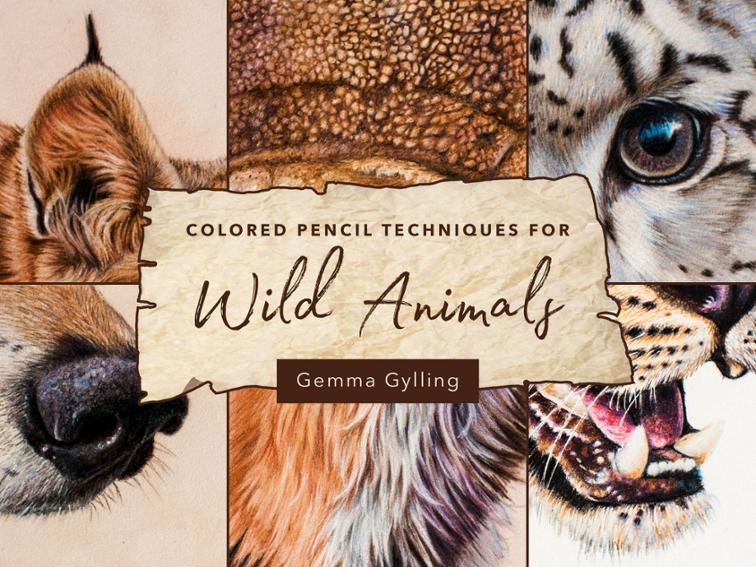 Colored Pencil Techniques for Wild Animals