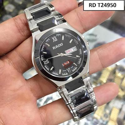 Đồng hồ nam dây inox trắng RD T24950
