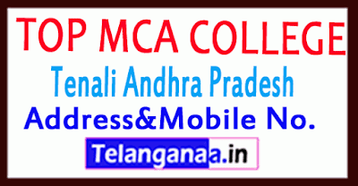 Top MCA Colleges in Tenali Andhra Pradesh