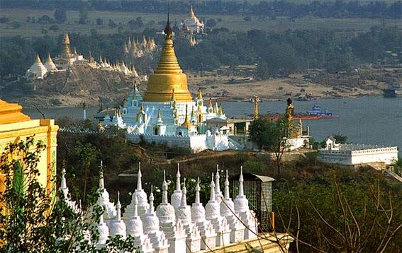 Irrawaddy Cruising at Sagaing