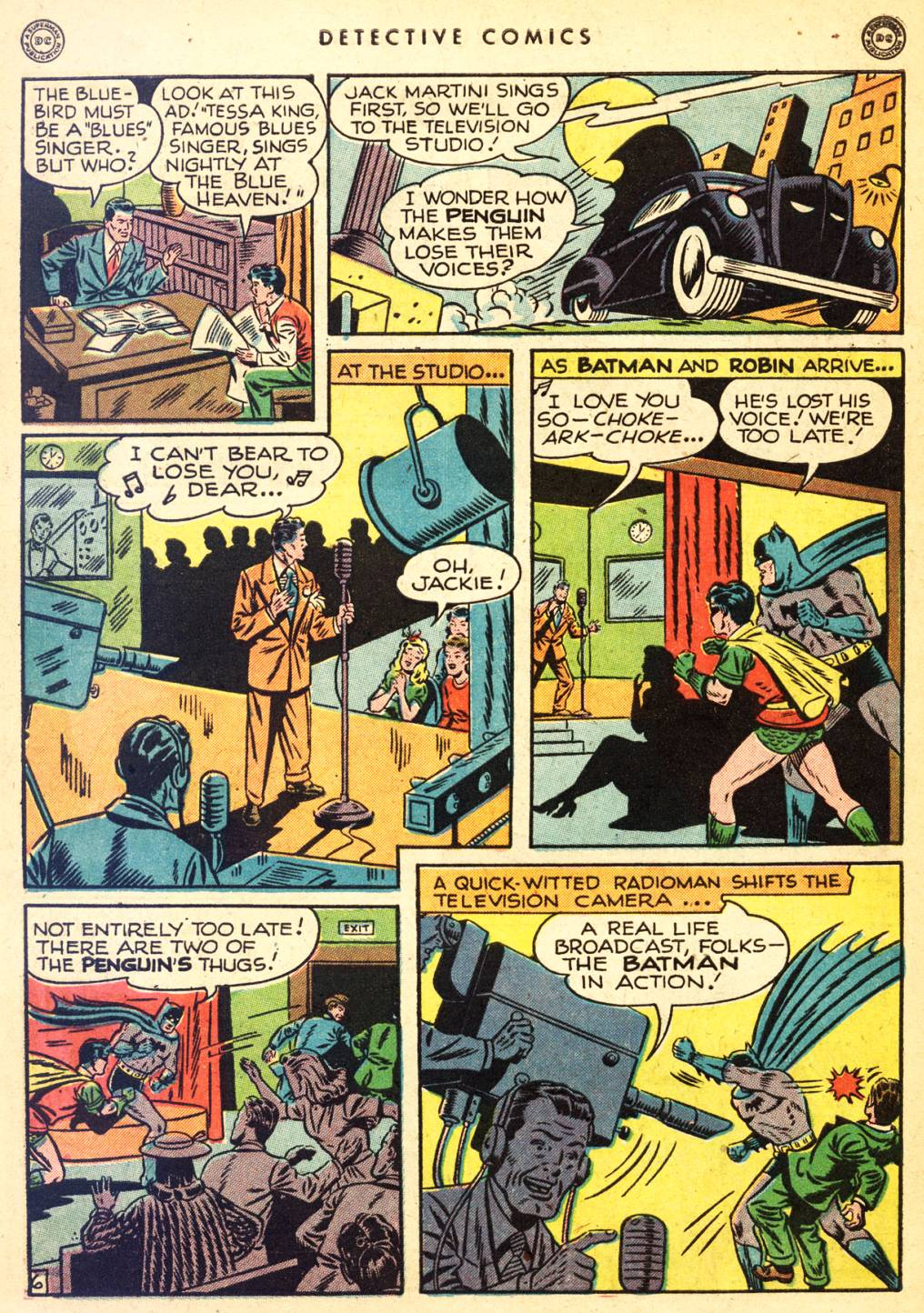 Read online Detective Comics (1937) comic -  Issue #126 - 8
