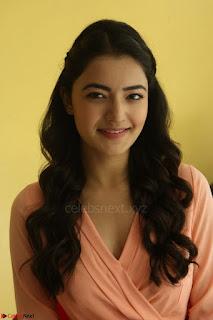 Rukshar Mir in a Peachy Deep Neck Short Dress 059.JPG