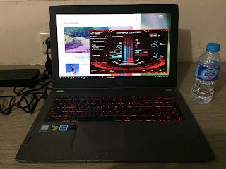 Laptop Asus ROG STRIX GL502VM Cepat Panas