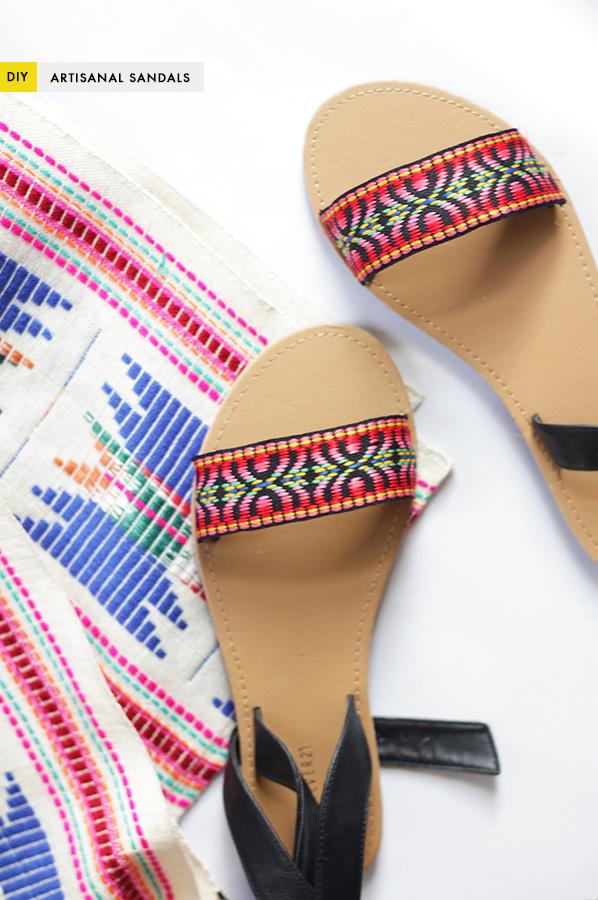 The Kipi Blog Diy Easy Artisanal Sandals