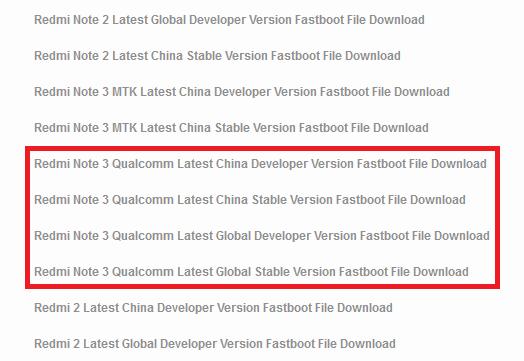 Cara Flash ROM Global Redmi Note 3 PRO Lengkap