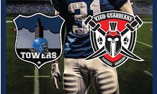 FÚTBOL AMERICANO - Vigo Guardians vs Cazuza Towers: V Liga Gallega