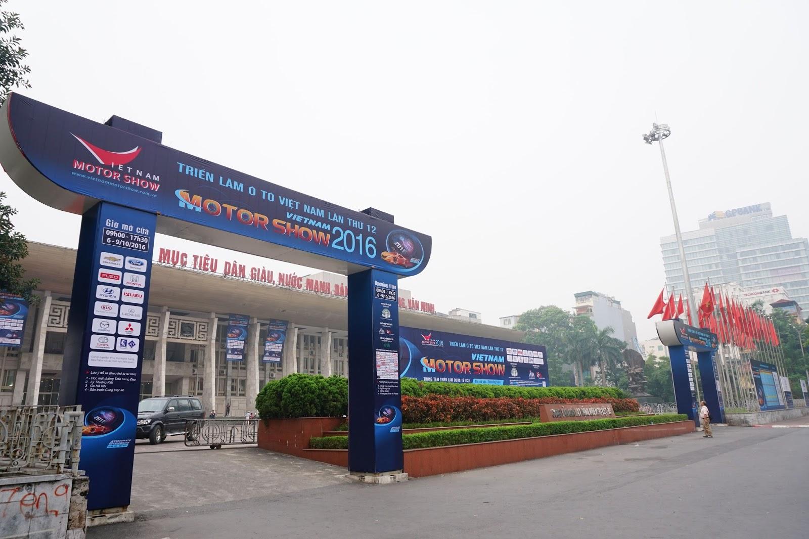 Vietnam Motor Show 2016 năm nay tổ chức tại Cung Văn Hoá Lao Động Hữu Nghị Việt Xô