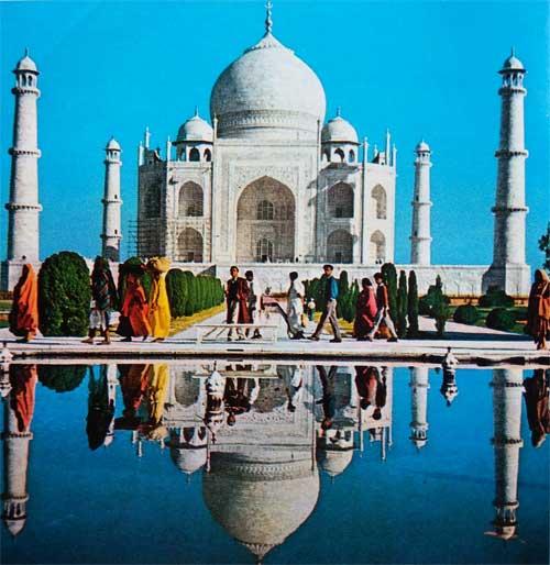 Foto Mausoleum Taj-Mahal di Agra