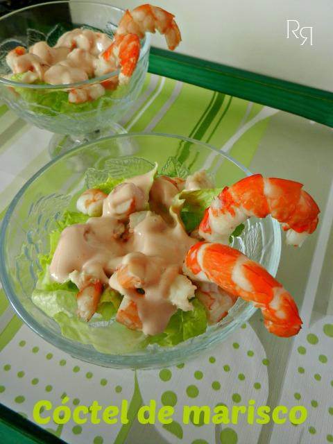 Coctel de marisco las recetillas de romo - Coctel de marisco ingredientes ...