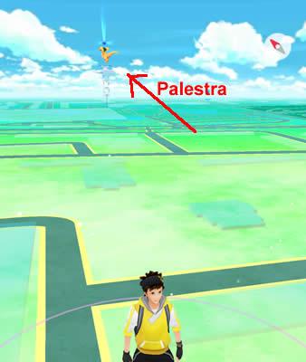 Come trovare le palestre in Pokemon GO