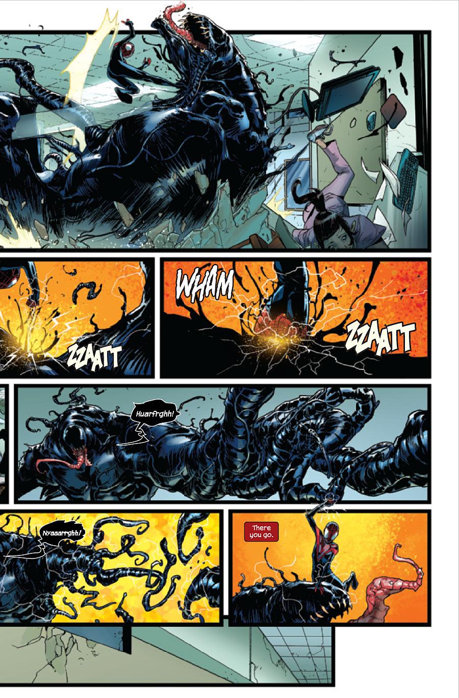 the venom site: ultimate comics spider-man 22 preview