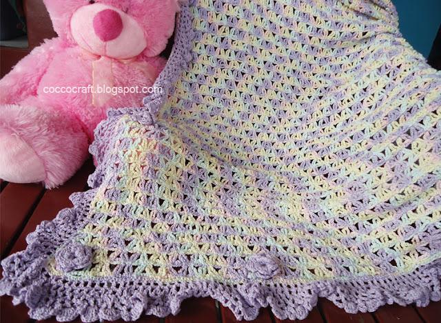 Beauty Chain Blanket Crochet Patterns
