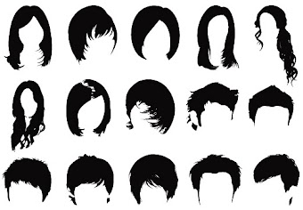 Mẩu tóc brush photoshop