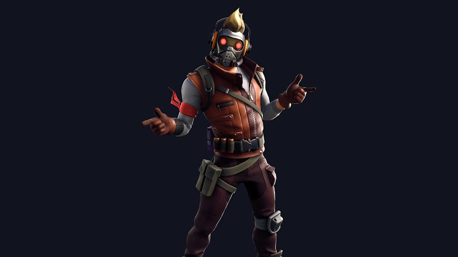 Fortnite Star Lord Outfit Skin 4k Wallpaper 195