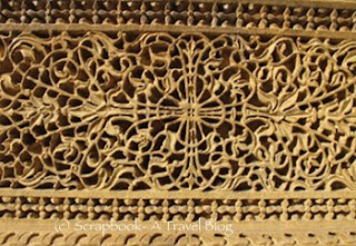 Intricate Jali work Jaisalmer Haveli