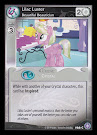 My Little Pony Lilac Luster, Beautiful Beautician The Crystal Games CCG Card