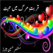 Qurbat-e-Merg Me Mohabbat by Mustansar Hussain Tarar Pdf