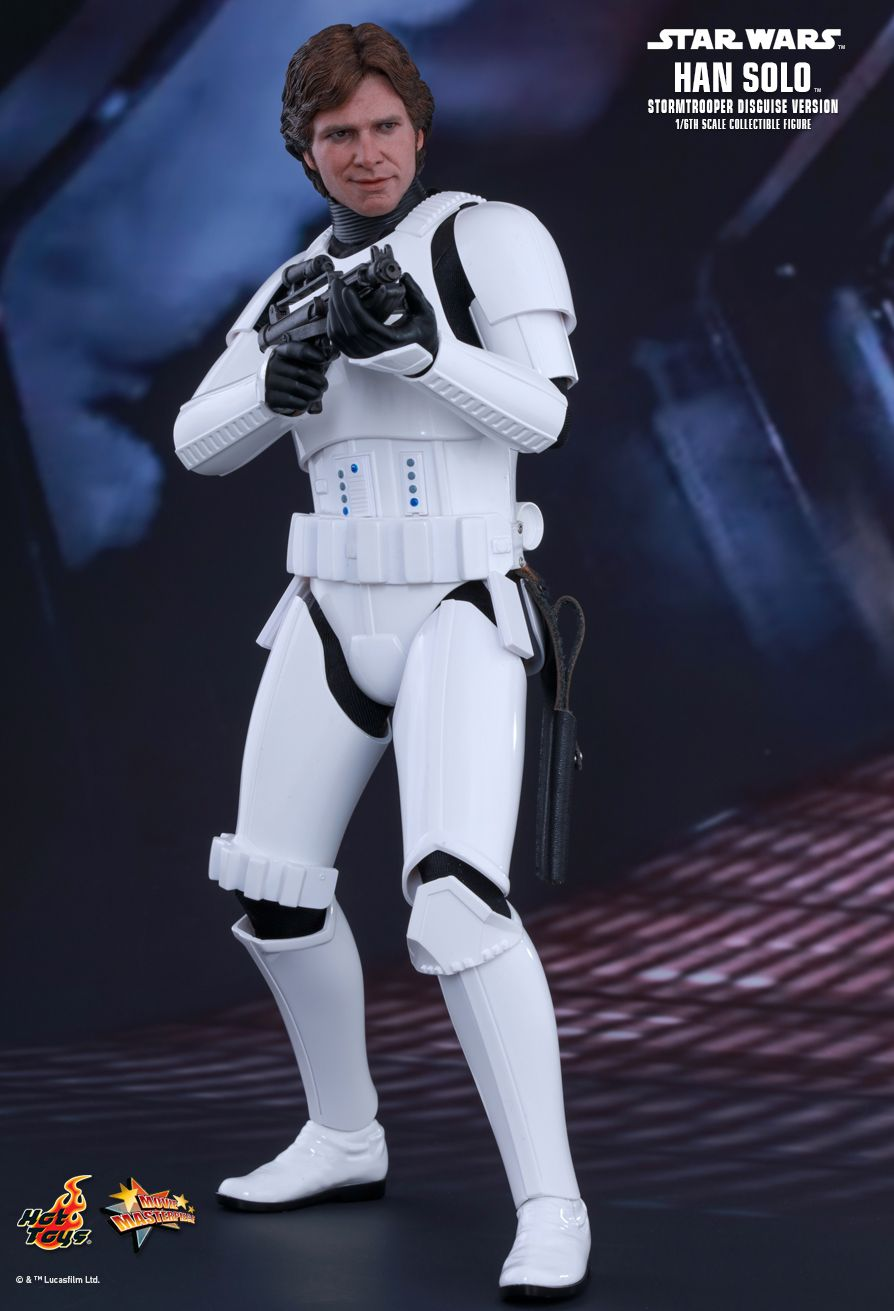 EP. IV - UN NOUVEL ESPOIR - HAN SOLO (STORMTROOPER Disguise Version) 2