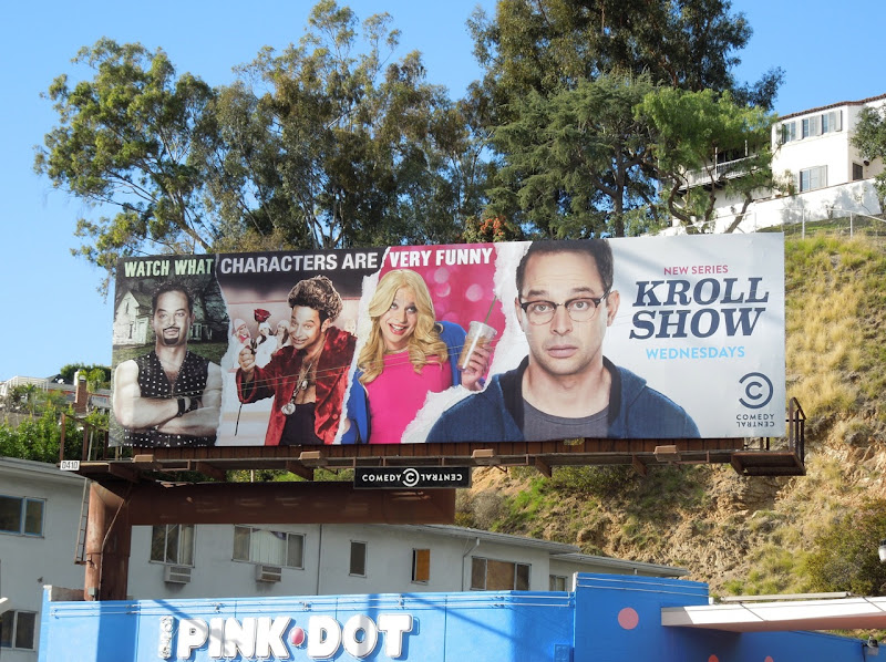 Kroll Show Comedy Central billboard