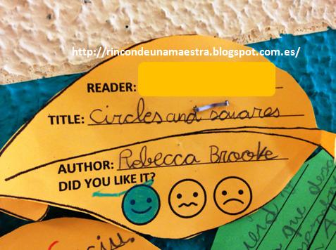 Rincón de una maestra: El árbol de la lectura